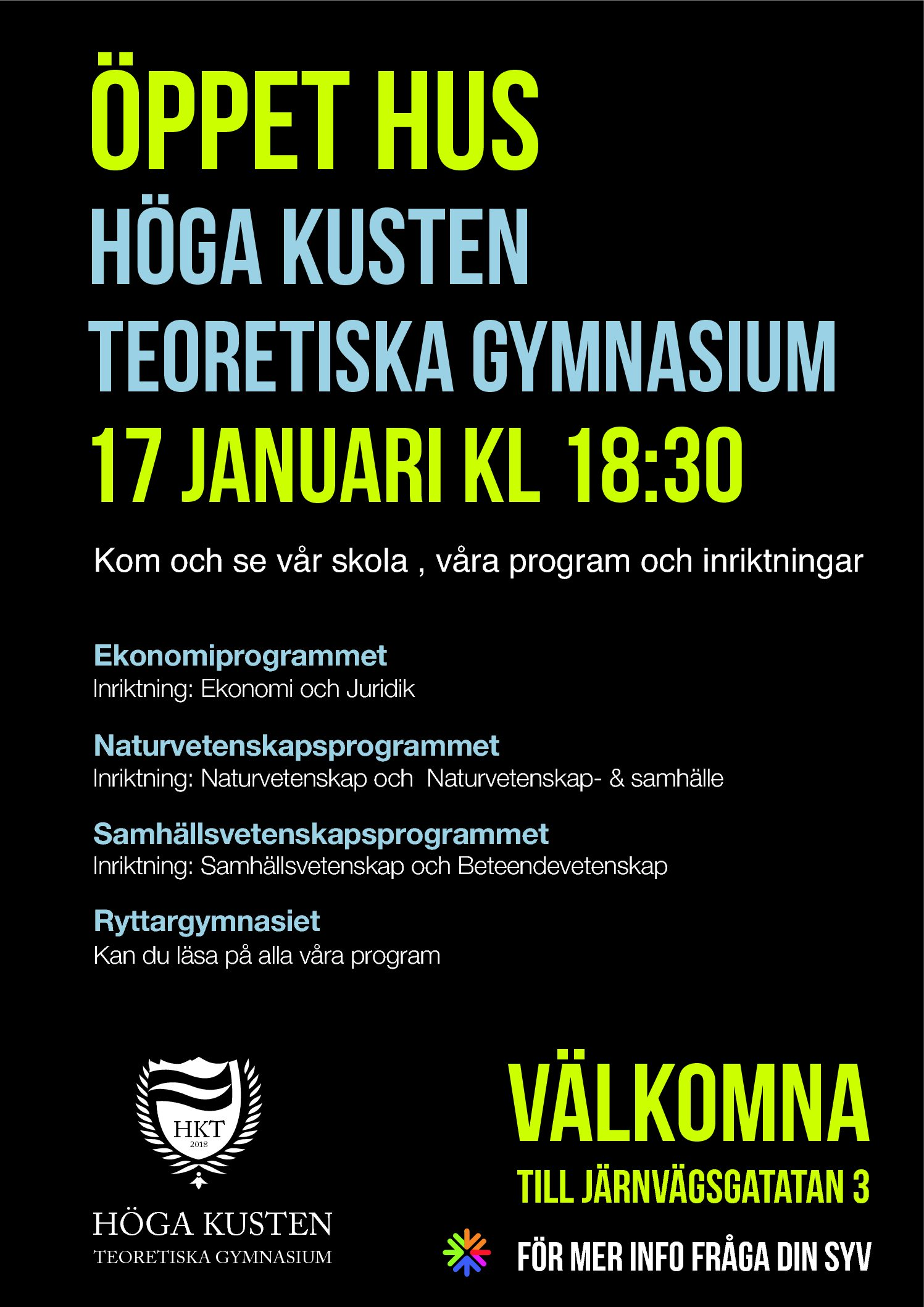 You are currently viewing Öppet hus 17 januari 18:30
